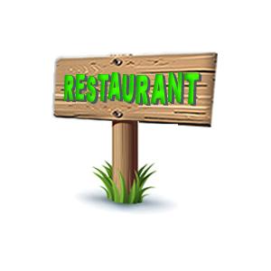 Restaurant aanwijzer Nice Flavour.fw